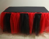 Minnie Mouse Tutu Table Skirt