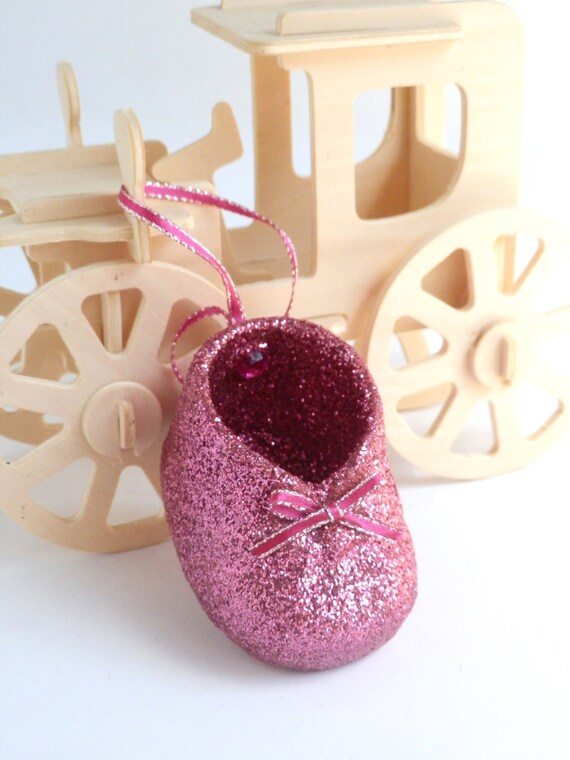 Baby Girl Pink Shoe Ornament