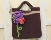 Felted Purse/Book Bag