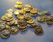 Bright Gold Coin Charms 24 pc.