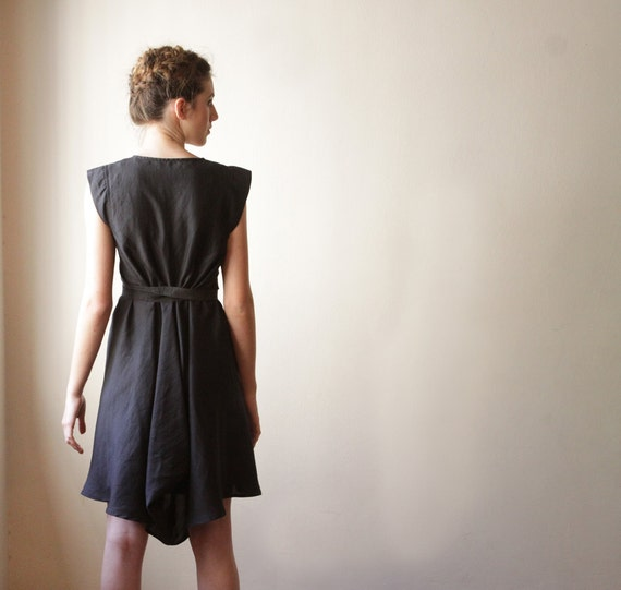 Women Black Dress ,Bridal Dress