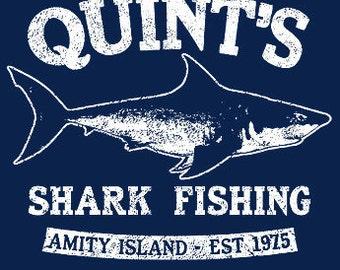 JAWS TSHIRT cool t shirt horror movie tshirt  shark t shirt fishing tshirt tee (also available on crewneck sweatshirts and hoodies) SM-5XL