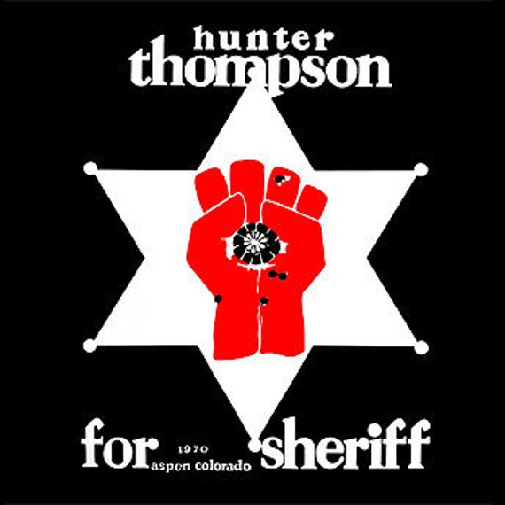 Hunter s thompson T-shirt gonzo funny 80s t shirt cool tshirt shirt Tee Shirt (also available on crewneck sweatshirts and hoodies) SM-5XL
