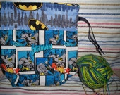 The Bat Is Back Project Bag