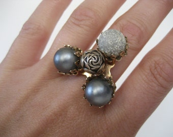 Up Cycled Unique Vintage Ring
