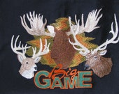 """Embroidered """"Big Game"""" Hoodie"""