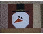 For the Love of Snowmen Quilt