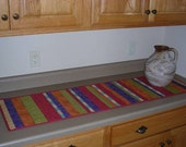 "Striped 15"" x 53"" Table Runner"