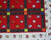 Roly Poly Farm Animals Baby Quilt