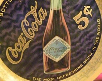"""Coca Cola Anniversary Commemorative Limited Edition Tray-""""SALE PRICE"""""""