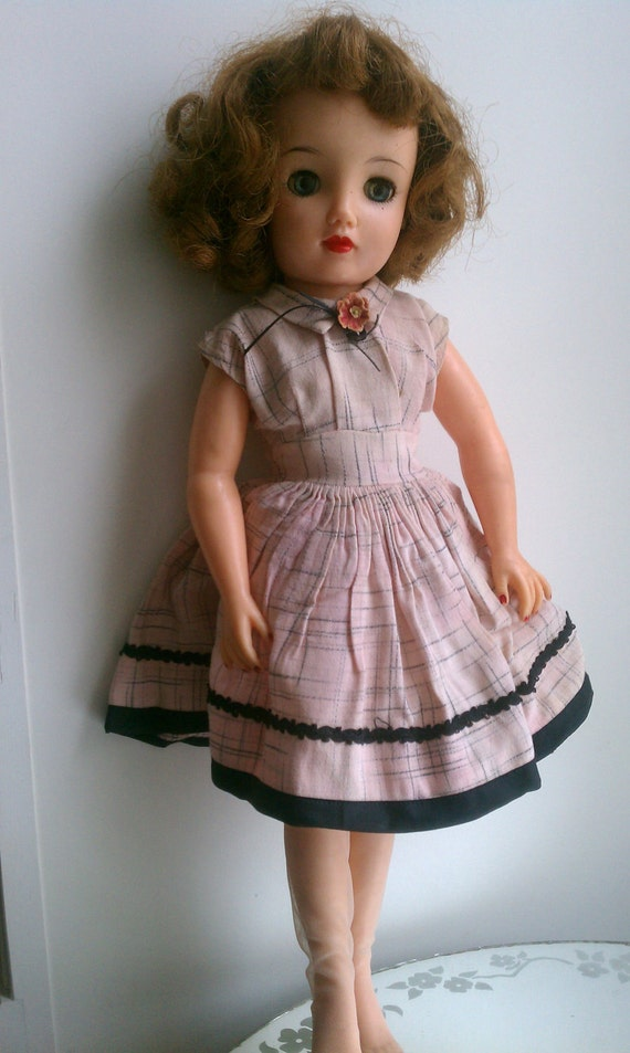 Reserved for c lones vintage doll revlon 1950 s ideal doll 17 quot miss