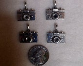 Charms, Camera, Pewter Charm
