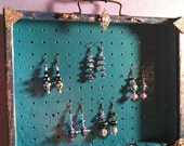 Upcycled Earring, Necklace and Bracelet Display and Holder