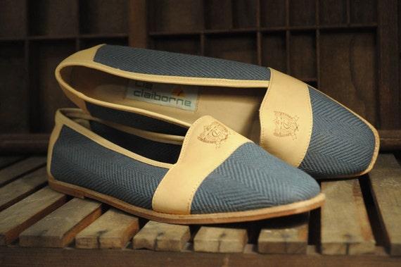Size 9 Liz Claiborne Herringbone Loafers
