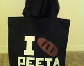 Hunger Games Tote Bag ((Choose your design AND color))