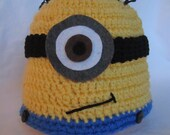 Despicable Me Minion Beanie -Made to Order