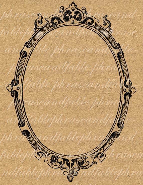 Cadre 056 miroir image contour graphique num rique mill sime for Miroir graphique
