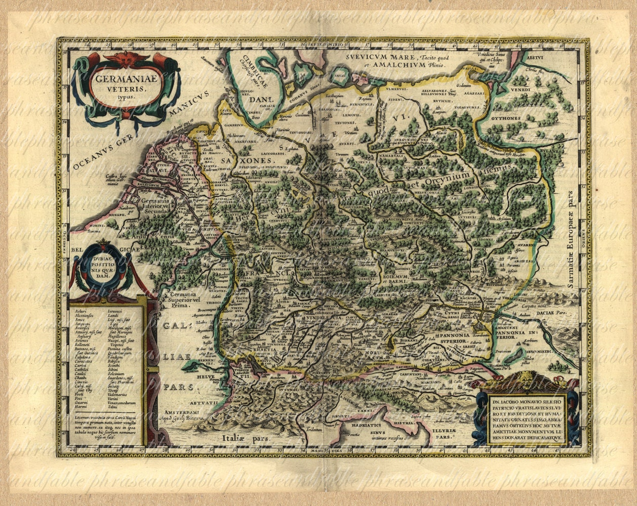 Map Of Germany From The S Germany Berlin Ancient Old World - Germany map full