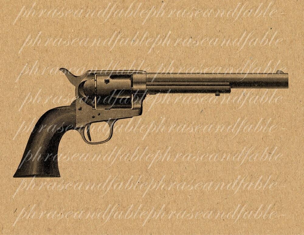1836 Colt Revolver Colt Revolver Clip Art