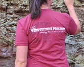 The Wine Culture Project Tshirt Find Your Sense of Place unisex tee ready to ship