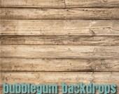 "Rustic-Wooden-Boards 48"" x 48""  - Vinyl Photography Backdrop Photo Prop"