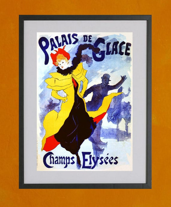 Palais De Glace, 1893 - 8.5x11 Poster Print - also available in 13x19 - see listing details
