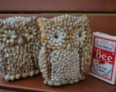 Seashell Owl Duo