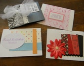 SALE- 4 Greeting Cards