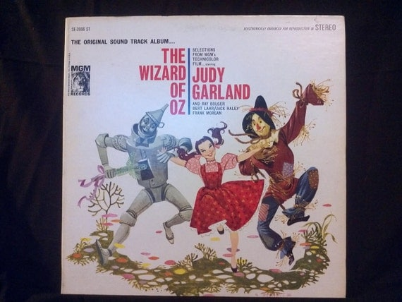 The Wizard Of Oz Vintage Record Lp Album By Decrepitudeaplenty