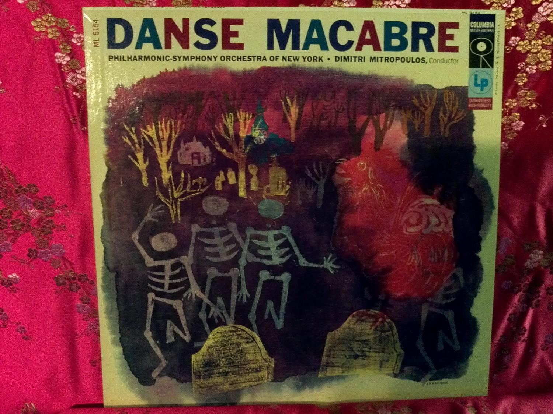 Sale Rare Vintage Danse Macabre Vinyl Record Album Lp