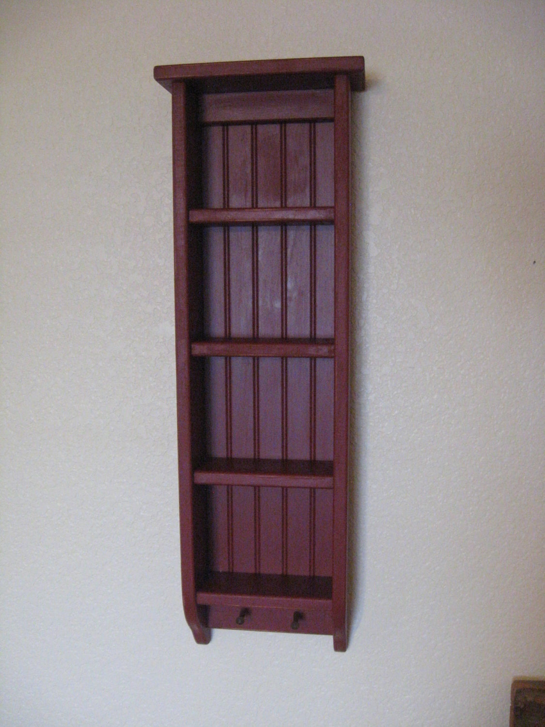 primitive wood ladder shelf. Black Bedroom Furniture Sets. Home Design Ideas