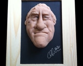"Ooak art doll ""Robert De Niro"" , made of polymer clay ""super sculpey"" , Caricature sculpture ."