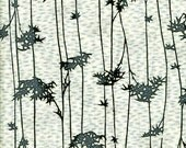 Moody Bamboo Grove Indigo Dyed Japanese Cotton