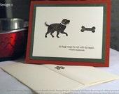 Dog Sympathy Card - Loss of a Pet