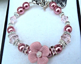 Daughter's keepsake bracelet - CUSTOMIZE FOR FREE