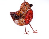 Beaded Robin Necklace- MADE TO ORDER
