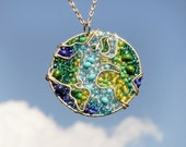 The Earth Beaded Necklace