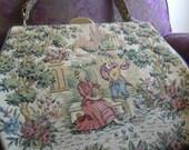 V I N T A G E Italian Tapestry Handbag