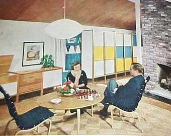 1961 MID CENTURY MODERN Decorating book Better Homes Gardens 400 pages