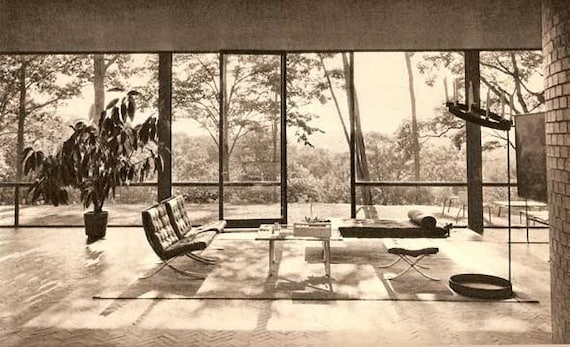 1952 Built In Usa Post War Architecture Book Mid Century