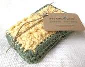 Nubbie Scrubbies Reusable Dish Sponges, in Banana Grove, FREE SHIPPING for Back-To-School