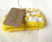 Nubbie Scrubbies Reusable Dish Sponges in Lemon Spritz, SET OF 2