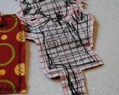 Decorative Gift Tag & Sassy Fabric Lady