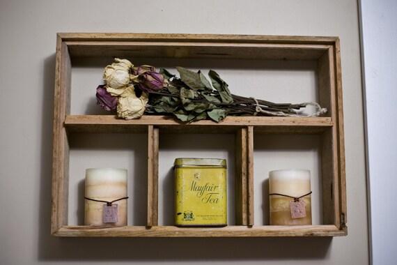 Reclaimed Barnwood Shelf