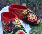 Felted Slippers- Tradition Made to order
