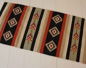 NEW - Handmade Natural Romanian Rug carpet kilim tapestry  - hand woven vegetable dyes wool
