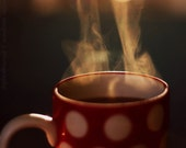 Steaming Cup of Tea - Fine Art 12'' x 12'' Photographic Print