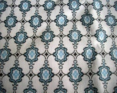 Victorian Blue Cotton Broadcloth Yardage