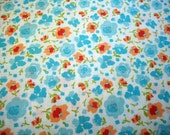 Bright Flower 100% Cotton Lawn Yardage