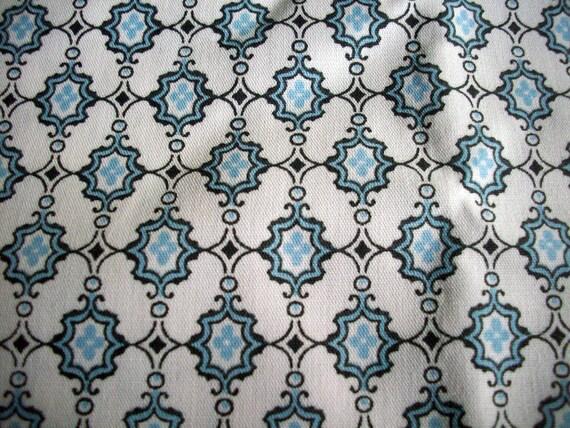 Victorian Blue Cotton Broadcloth Yardage